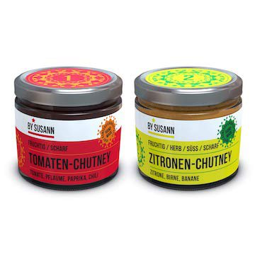 2er Chutney Set  – <br> Tomate & Zitrone