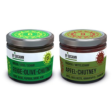 2er Chutney Set  – <br> Feige-Olive & Apfel